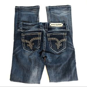 Rock Revival Bling Nancy Bootcut Jeans